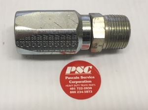 """Picture of FG-NPM-1212, 5/8"""" Hose ID to 3/4""""-14 NPTF Male Thread - Field Grip 1 Piece Reattachable Hydraulic Fitting"""