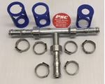 """Picture of GC-HMT-0808, 13/32"""" ID Hose Mender Tee - GC Cool Clip Fitting"""
