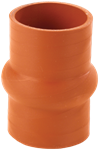 """Picture of H51-600, Hump Hose 6"""" ID x 6"""" Long - Hot or Cold Side, 65 to 500 Deg F"""