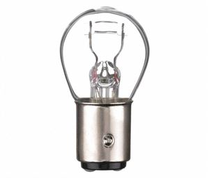 Picture of 1157, GE Replacement Mini Bulb - 8/27 Watt, S8 Bulb Shape, Double Contact BAY15d Base