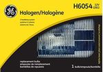 Picture of H6054, Halogen Sealed Beam Lamp - High/Low Beam, 35/65 Watts, 12 Volts
