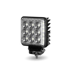 "Picture of TLED-U120, 4.25"" Square LED Work Lamp - ""Radiant Series"", 14 Diodes, 1800 Lumens"