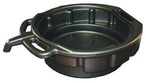 "Picture of ATD-5184, Drain Pan - 4.5 Gallon, Black, 6"" Deep x 15.25"" Diameter"