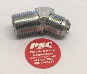 7//16 JIC X 1//4 BSPT ELBOW ST//ST Panam 37 JIC Stainless Steel Fitting 206M6R14
