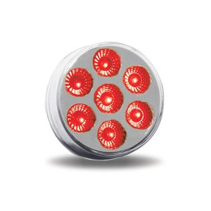 "Picture of TLED-2XRG, 2"" Red to Green LED Light - 7 Diodes, DOT Compliant to Auxiliary Function in ONE LIGHT"