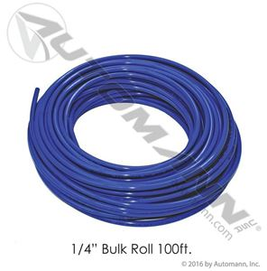 "Picture of 177.5004B, 1/4"" Nylon Air Brake Tubing - Blue, 100 Feet"