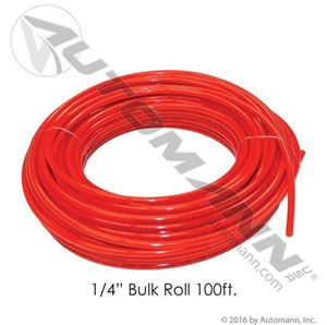 "Picture of 177.5004R, 1/4"" Nylon Air Brake Tubing - Red, 100 Feet"