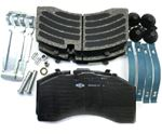 Picture of K070796, Brake Pad Kit - ADB22X and SK-7 Air Disc Brakes, FMSI D1369, 8479-D1369