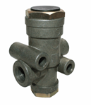 Picture of S-D821, TR-3 Inversion Valve - Bendix 280758N, 280758, 281053, Truck Pro BH280758, Volvo 8084521, Navistar BX280758N