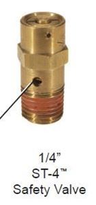 Picture of 800155, ST-4 Safety Valve / Pressure Relief Valve - 200 PSI