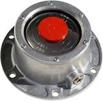 "Picture of 343-4009, Hub Cap with Pipe Plug - 5.5"" Bolt Circle, 6 Bolts - Also Try SKF 1643, 1743, PAI AHS-9961"