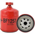 Picture of BF1257, Fuel/Water Separator Spin-on Filter with Drain - Clark 6647773, Melroe-Bobcat 6667352