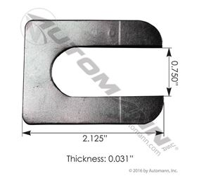 """Picture of MFL154, Alignment Shim 1/32"""" Thickness - Freightliner 681-328-22-84, 6813282284"""