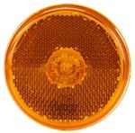 "Picture of 10208Y, 2.5"" Incandescent Yellow Clearance Marker Light - Reflectorized, Shock Mount"