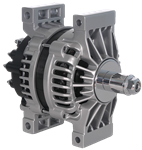 Picture of 8600314, New Alternator 28SI - NO Core Charge, 12 Volts, 200 Amps, Pad Mount