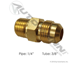 "Picture of 177.8486B, Male Connector - 3/8"" SAE Tube x 1/4"" Pipe"