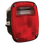 Picture of 53630, LED S/T/T Box Light - Three Stud RH - Replaces GM® 15613944 and 15565732,LED replacement for Navistar® 1661282C91