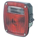 Picture of 53640, LED S/T/T Box Light - Three Stud LH with License Window - Replaces GM® 15613943 and 15565731