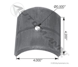 Picture of KP144, Fifth Wheel Cap SAF Holland - XA35103505 Series, FW3503344 - Cross Reference Holland XA03423