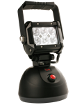 Picture of BZ501-5, Hand Held Work Light - 6 LED 1100 Raw Lumens, Magnetic Base, Car and Wall Chargers, Rugged Construction