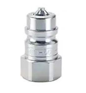 "Picture of SM-502-8FP,  SM Series Nipple 1/2""-14 Female Thread - High Pressure, Hydraulic, Poppet Valve, 6000 PSI, Steel"
